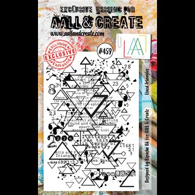 AALL and Create A6-os bélyegző no.459
