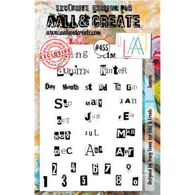 AALL and Create A5-ös bélyegző no.455