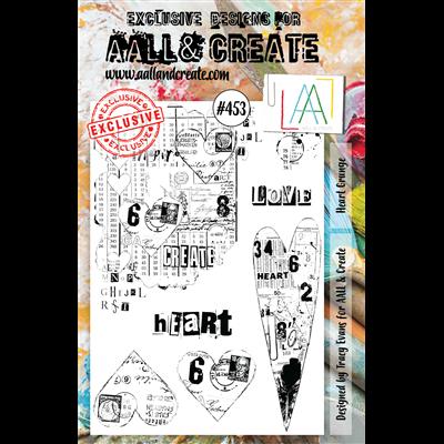 AALL and Create A5-ös bélyegző no.453