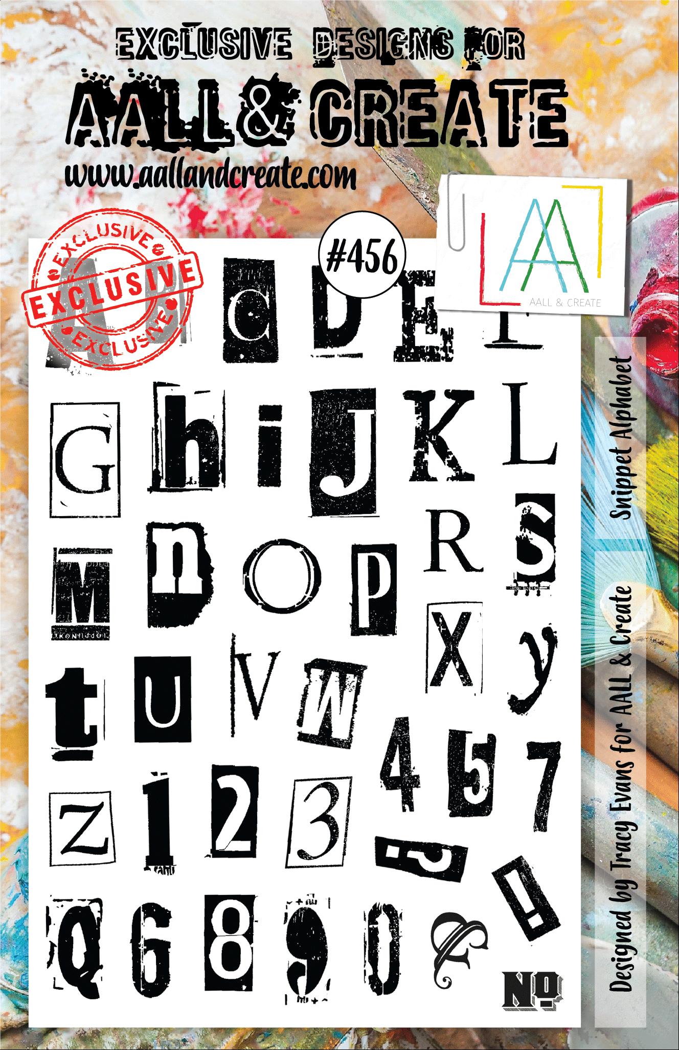 AALL and Create A5-ös bélyegző no.456