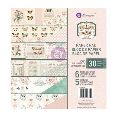 My Sweet kollekció 8x8 paper pad - 30 lap