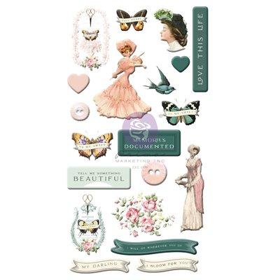 My Sweet kollekció - Puffy Stickers 20db