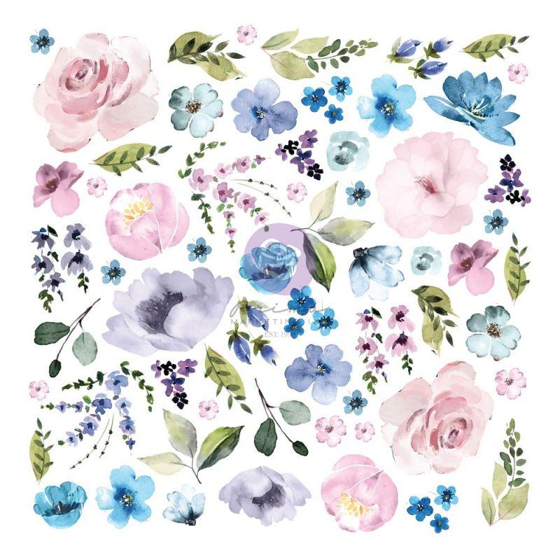 Watercolor Floral kollekció - Ephemera - 62db