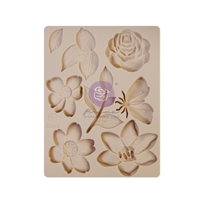 """Szilikon öntőforma - Watercolor Floral 3,5"""" x 4,5"""""""