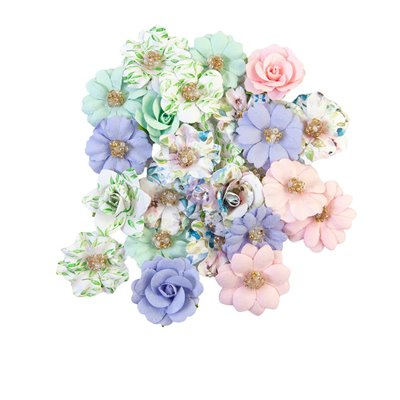 Prima Flowers - Watercolor Floral - Tiny Color