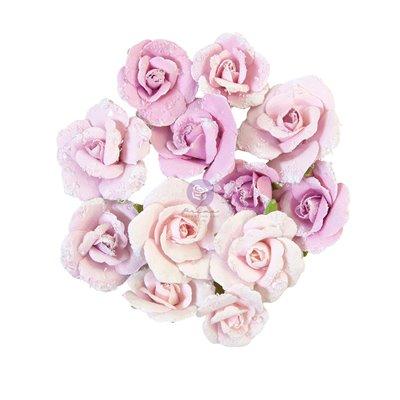Prima Flowers - Watercolor Floral - Grey Pigment