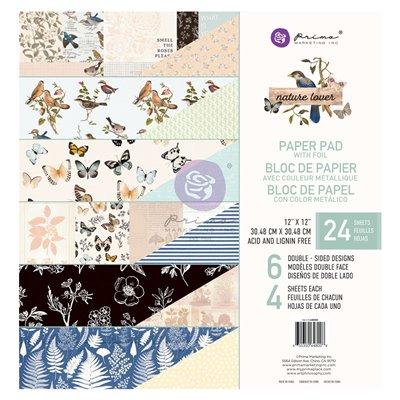 Nature Lover Fóliás Mini kollekció 12x12 - 6 lap