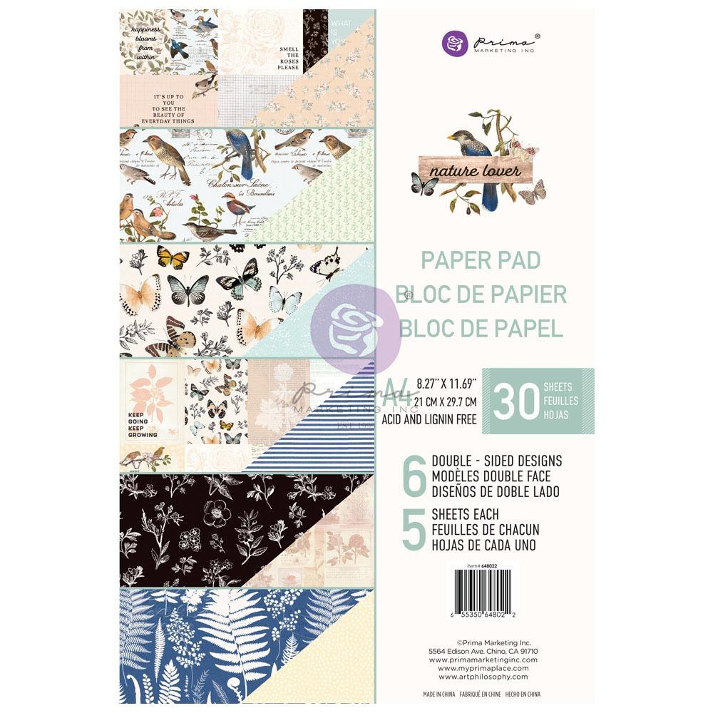 Nature Lover kollekció A4 paper pad – 30 lap
