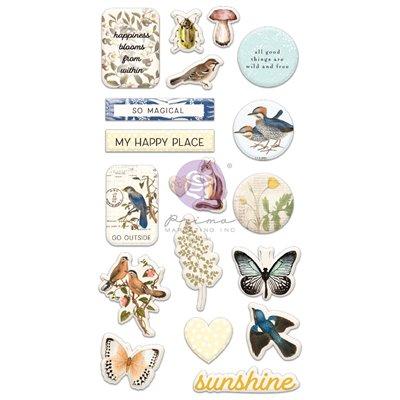 Nature Lover kollekció - Puffy Stickers 19db