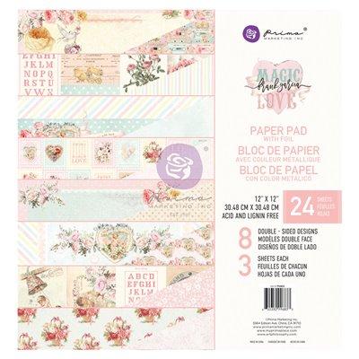 Magic Love Fóliás Mini kollekció 12x12 - 8 lap