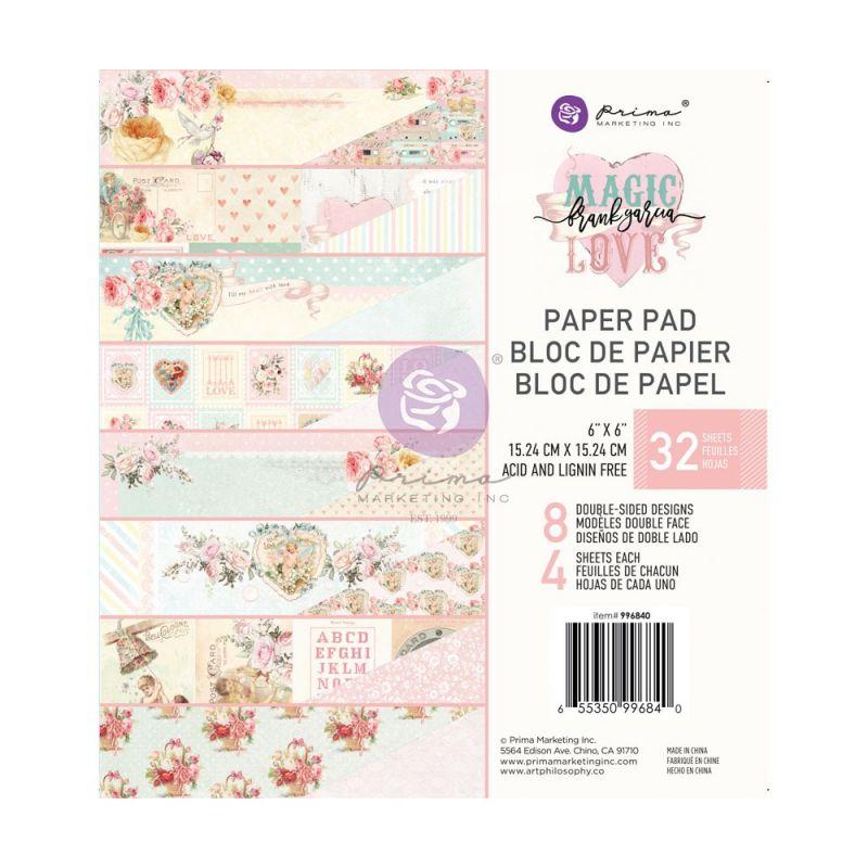 Magic Love kollekció 6×6 paper pad – 32 lap
