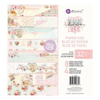Magic Love kollekció 8×8 paper pad – 32 lap