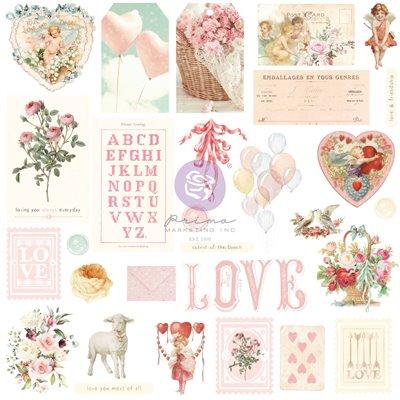 Magic Love kollekció - Fóliás Ephemera - 29db