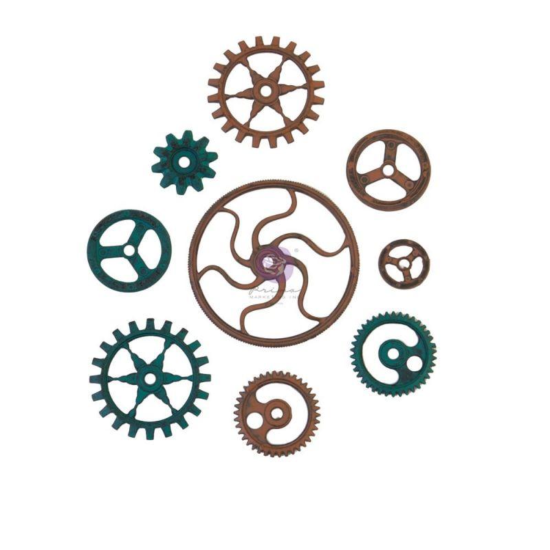 Finnabair - Mechanicals - Grungy Gears 9db