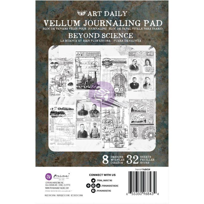 Finnabair - Art Daily Velum Pad - Beyond Science