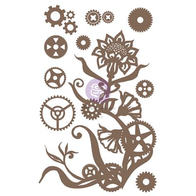 Finnabair - Decorative Chipboard - Steampunk Flowers 13db