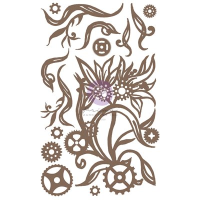 Finnabair - Decorative Chipboard - Steampunk Blooms 14db