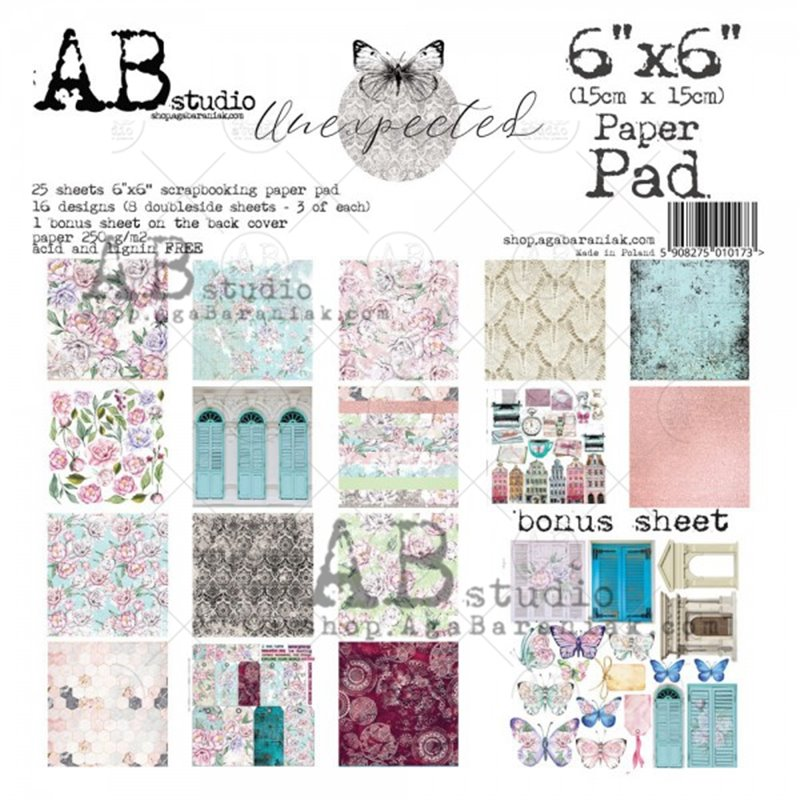 """Unexpected 6""""-es scrapbook papír kollekció"""
