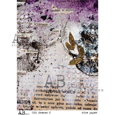 """Decoupage papír """"Old dreams 2"""""""