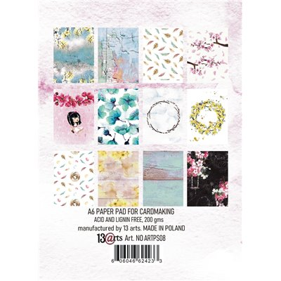 Pastel Spring A6 -os kártya szett