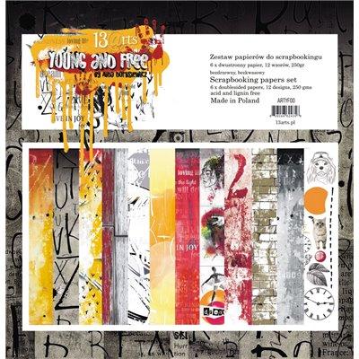 """Young and Free 12""""x12""""-es kollekció"""