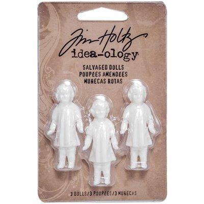 Idea-ology - Tim Holtz Salvaged Dolls (3 db)