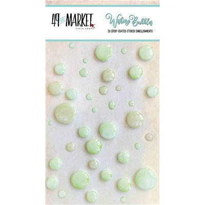 49 And Market Epoxy Coated Wishing Bubbles - Limeade - 38 db