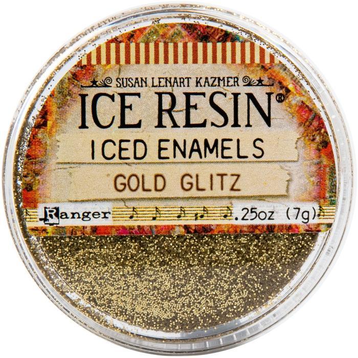 Iced Enamels Relique Powder - Glitz Gold
