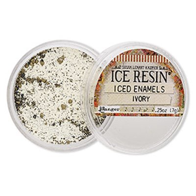 Iced Enamels Relique Powder - Ivory