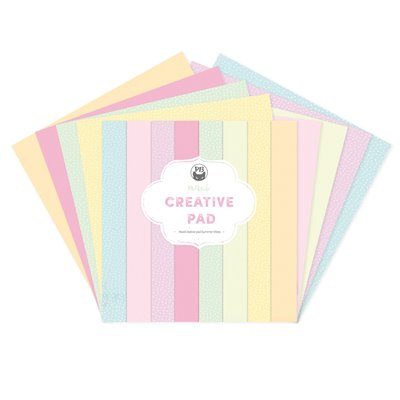 "Summer vibes - 12""-es maxi creative pad (12 db 2 oldalas papír + 2 db borító)"