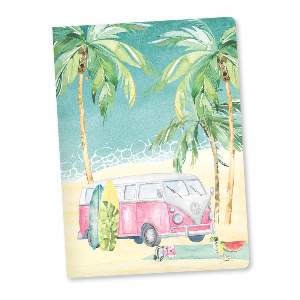 Summer vibes - A5-ös art journal