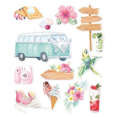 Summer vibes - ephemera - 13 db