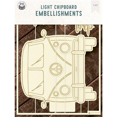 Chipboard albumalap - Camper
