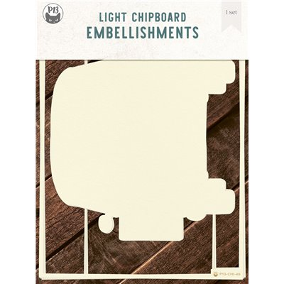 Chipboard albumalap - Belső lapok a Camper albumalaphoz