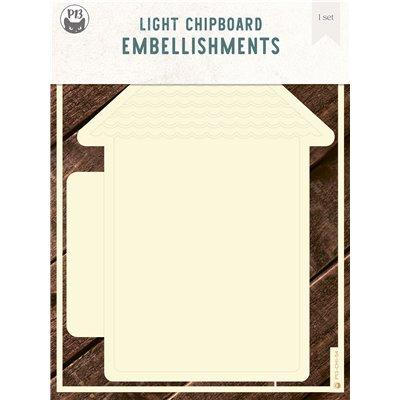 Chipboard albumalap - Ház 01