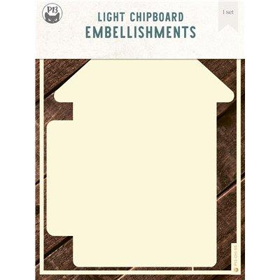 Chipboard albumalap - Belső lapok a Ház 01 albumalaphoz