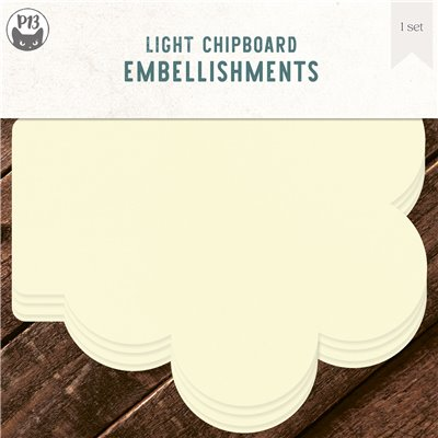Chipboard albumalap - Floweret