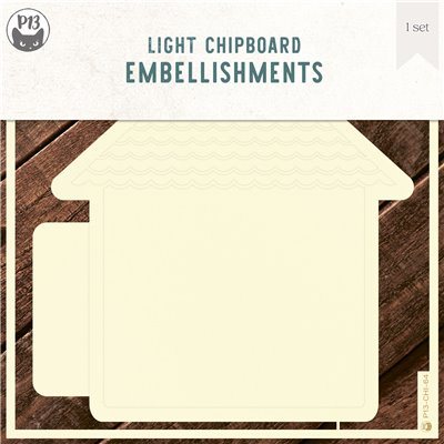 Chipboard albumalap - Ház 02