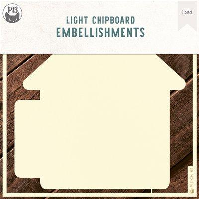 Chipboard albumalap - Belső lapok a Ház 02 albumalaphoz