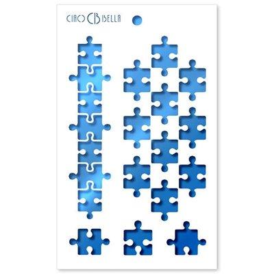 """Textúra stencil 5""""x8"""" - Puzzle"""