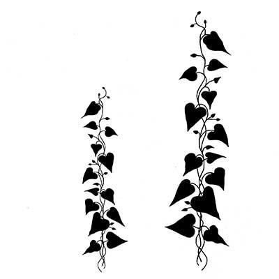 Climbing Ivy polimer bélyegző