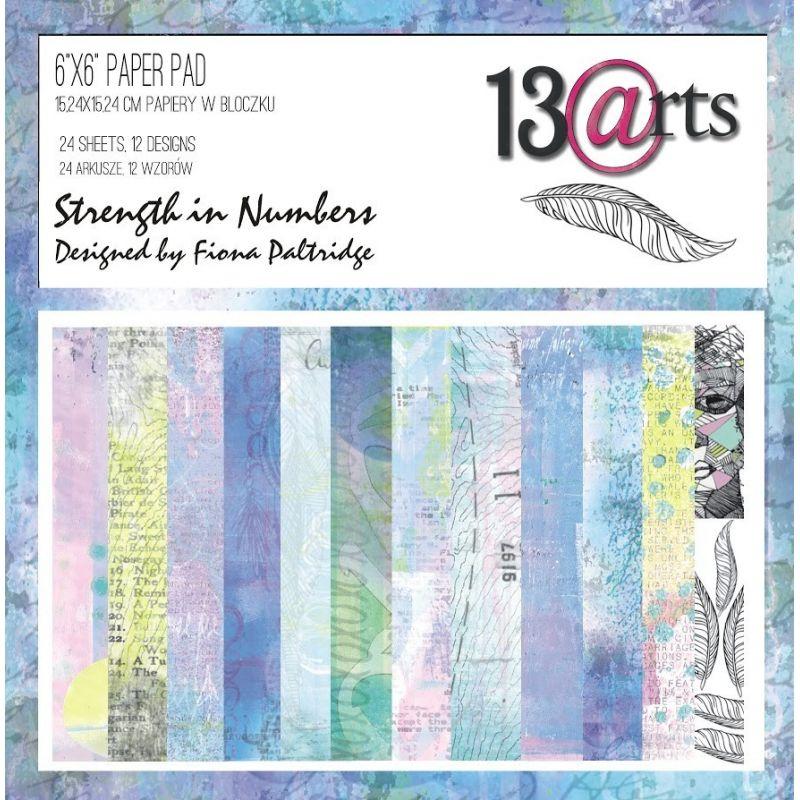 Strength in Numbers kollekció - 6x16 by Fiona Paltridge