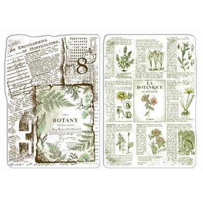 """Szilikonbélyegző szett 4""""x6""""- Botanical Horticolture"""