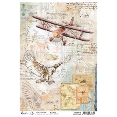 Rizspapír A4 - Study of flight