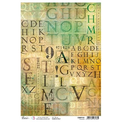 Rizspapír A4 - Typefaces