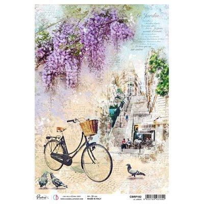 Rizspapír A4 - Le Jardin