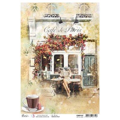 Rizspapír A4 - Café de Paris