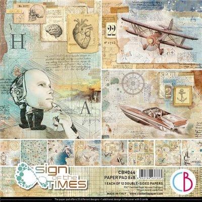 "Sign of the Times 8""x8""-as papírkollekció"