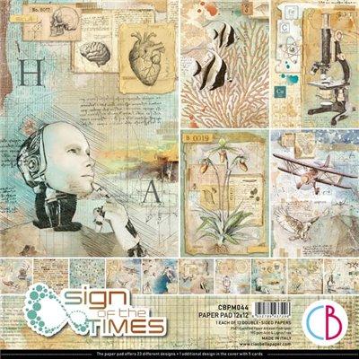 """Sign of the Times 12""""x12-es papírkollekció"""