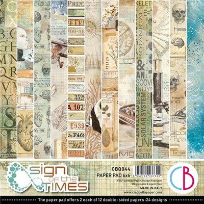 """Sign of the Times 6""""x6""""-os papírkollekció"""